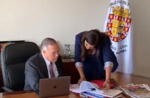 José Luis Fabrega tomó posesión como alcalde el 2 de julio ante el Consejo Municipal.