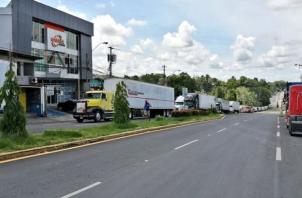 Panamá abordó este lunes con autoridades costarricenses las medidas adoptadas sobre el transporte de carga.