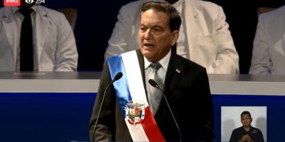 Presidente de la República, Laurentino Cortizo. Foto/Cortesía