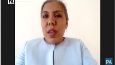 Directora de Evaluación Académica, Gina Garcés.
