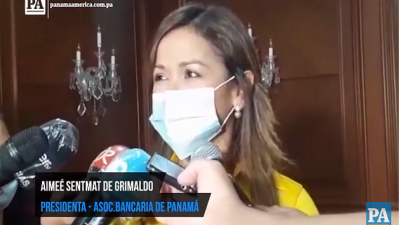 Aimeé Sentmat de Grimaldo, presidenta de la Asociación Bancaria de Panamá.