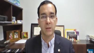 Jean - Pierre Leignadier, presidente de la Cámara de Comercio, la Industria y la Agricultura de Panamá.