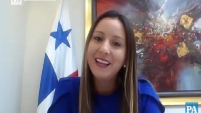 Viceministra Milagros Ramos Castro se refiere a Vale Solidario.