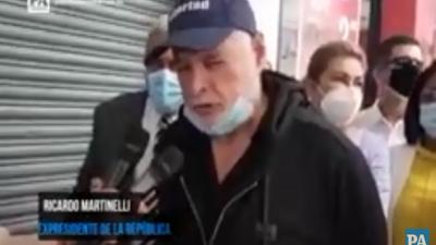 Expresidente Ricardo Martinelli presenta denuncia contra exmagistrado.