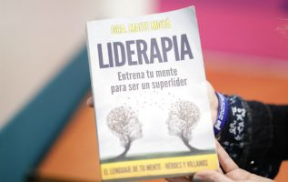 'Liderapia', la obra  de la psicóloga y consultora española Maite Moyá. Foto: Aurelio Herrera